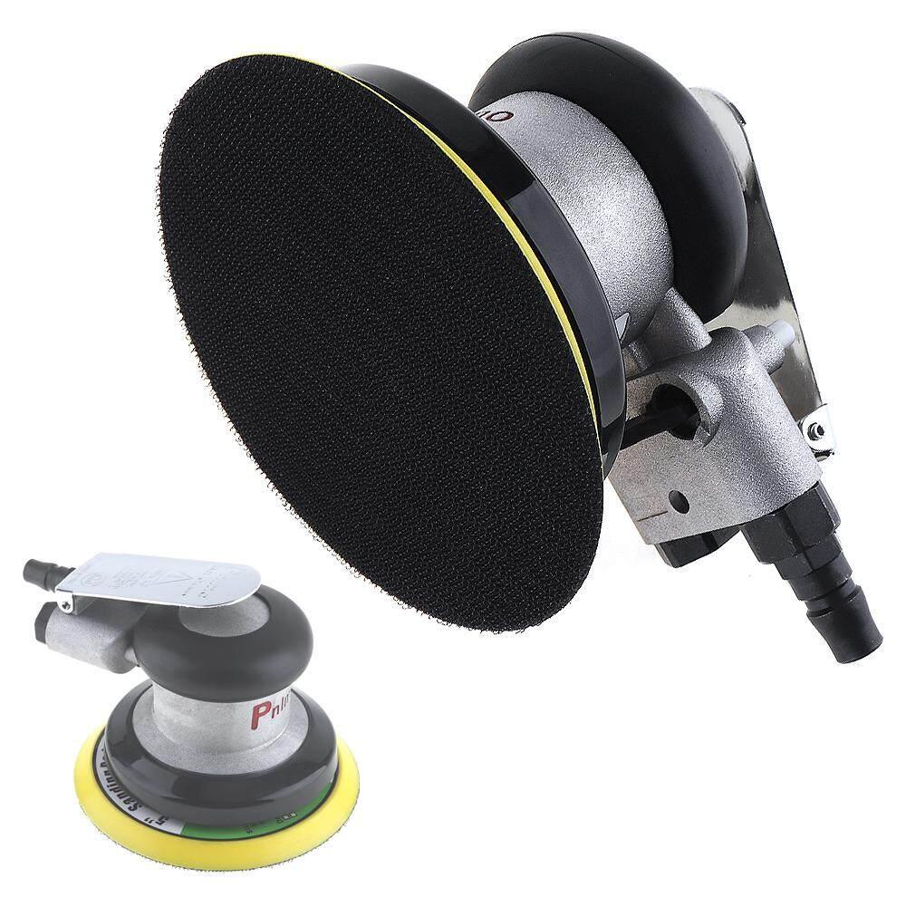 5 Inch Impulse Non-vacuum Matte Surface Circular Pneumatic Sandpaper Random Orbital Air Sander Polished Grinding Machine Hand Power Tools - intl