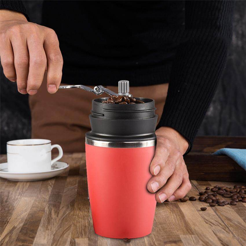 2018 Wholesale Manual Coffee Grinder Mill Cup Coffee Maker Hand Mill Grinder Ceramic Corn Burr Mill Coffee Grinding Machine