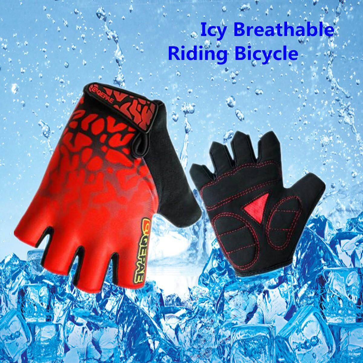 Unisex Genuine Cycling Gloves Giant Bicycle Half Finger Bike Antiskid