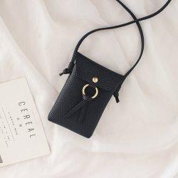 2020 Baru Tas Kecil Versi Korea dari Rumbai Tas Ponsel Tas Mini Mahasiswa Persegi Kecil Tas Sederhana tas Messenger Wanita