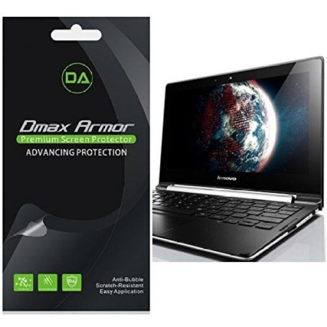 [3-Pack] Dmax Armor- Lenovo Chromebook N20p Anti-Glare &Amp; Anti-Fingerprint Screen Protector - Lifetime Replacemen Warranty- Retail Packaging - intl