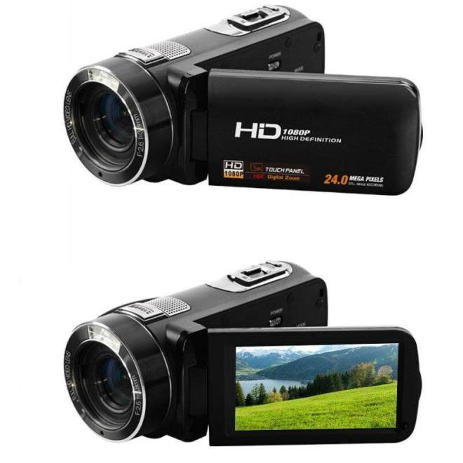 3.0'' 8MP HD 1080P Digital Zoom Camera DV Camcorder RC Anti Shake Black - intl