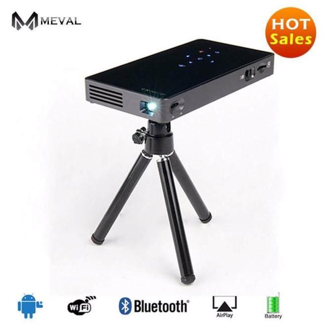 Meval P8 Mini Proyektor HDMI untuk Seluler Harga Murah Rumah Cinema 1080 P Penuh HD Pintar Projector HDMI 1080 P 1G/8G Rom-Internasional