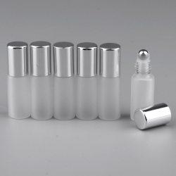 Kloware Botol Rol Minyak Esensial Parfum Kosong 6 Buah Alas 5Ml Botol Rol Kaca