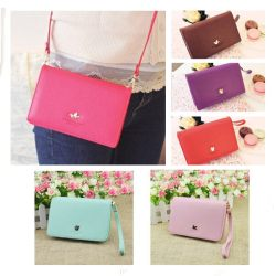 Korean Women Phone Messenger Shoulder Bag Handbag Wallet Purse Cross Body Clutch