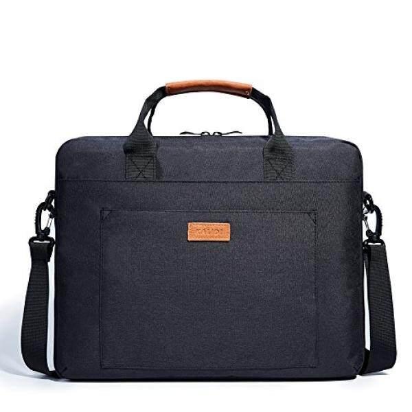 Tas Bahu Laptop, kalidi 17.3 Inch Buku Catatan Briefcase Kurir Tas UNTUK Dell Alienware/MacBook/Lenovo/Ponsel, Travelling, bisnis, College dan Kantor. -Internasional