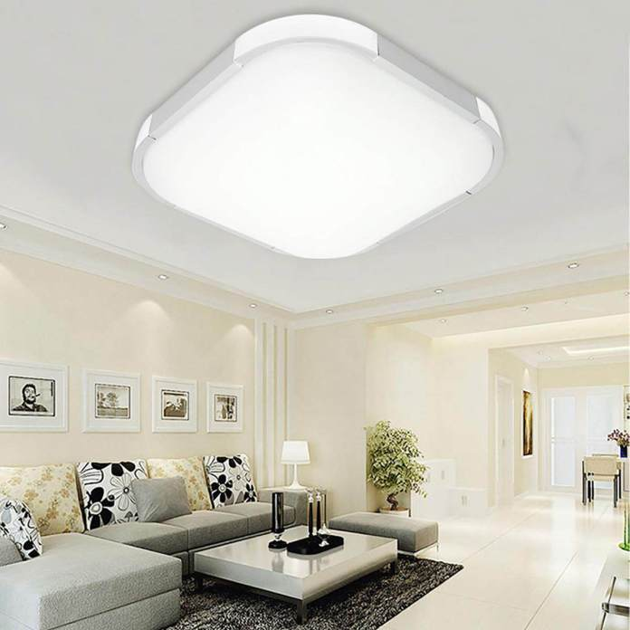 36W LED Square Ceiling Down Light Bedroom Living Room Lamp Surface Mount