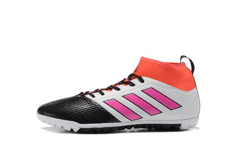 Timed Promotions New Lace-up Football Shoes ACE 17.3 Primemesh TF Soccer Mens Size 39-45 Indoor Football Sneakers (Black/Pink/White/Orange) - intl