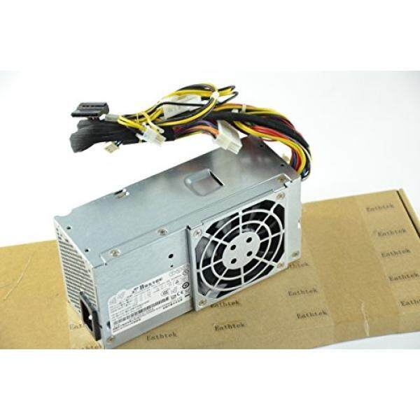 Penggantian Eathtek 250 W Sumber Daya Listrik untuk Dell Vostro 200 (Ramping) 200 S 220 S Inspiron 530 S Studio 540 S SFF XW605 6423C K423C H856C YX302 Seri, kompatibel dengan Bagian # TFX0250P5W X3 PS-5251-5 HP-D2506A0-Internasional