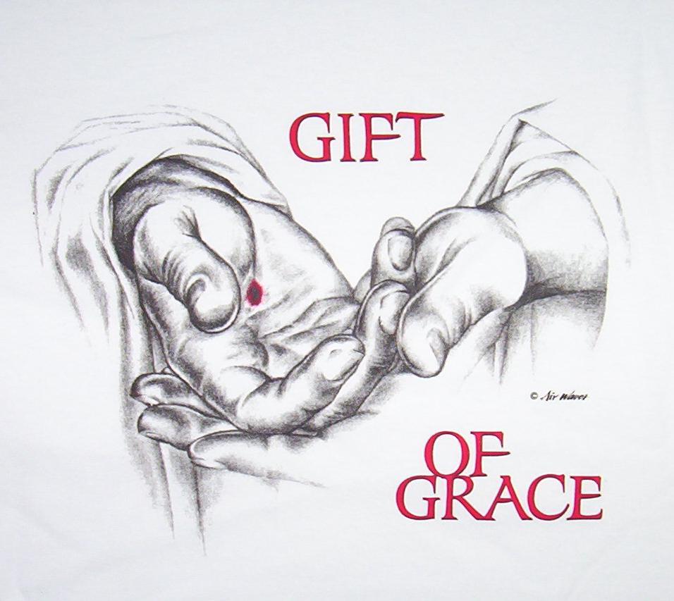 It is a free gift….God's Grace