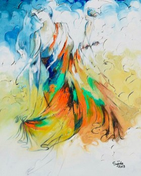 abstract-dancing-figurative-art-sajida-hussain 2