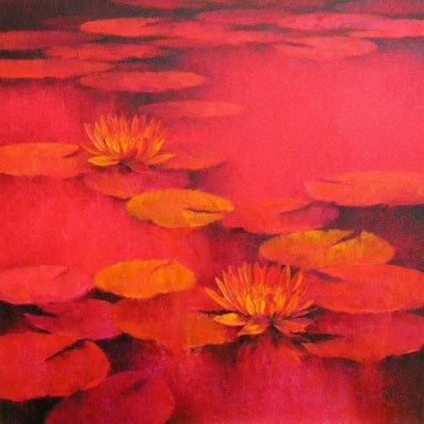 5.-Swati-Kale-Water-Lillies-I-24-x-24-inches
