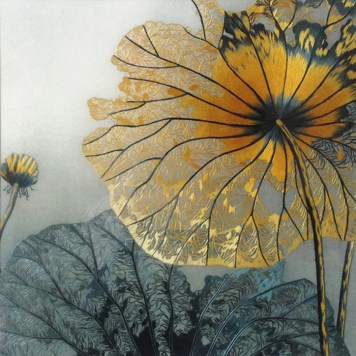 embroidery_lotus-leaves_yellow