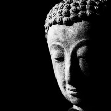 low-key-monochrome-photography-buddha