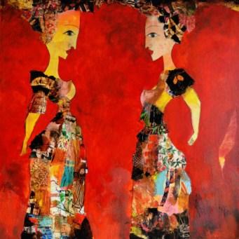 oeuvre-d-art-contemporain-valerie-depadova-deux-femmes