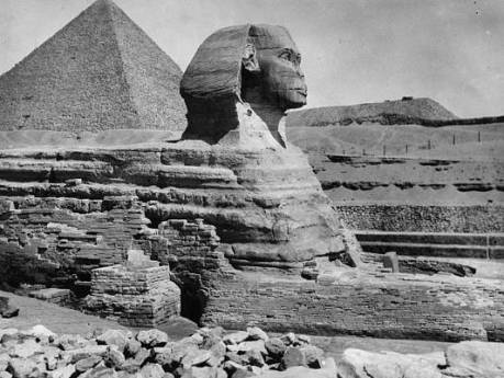 the-great-sphinx-hulton-archive