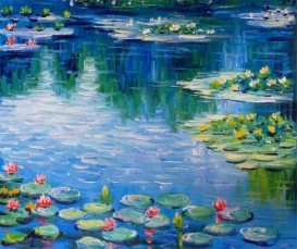 Water-Lilies-in-Spring-Claude-Monet-Oil-Painting-on-Canvas-Impressionistic-Art-56