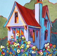 327f4f88b68c2d2670a855dc7f640682--house-paintings-landscape-paintings