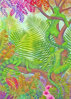 568331b793940a8b0f644f8898b8bf3c--tropical-art-art-images