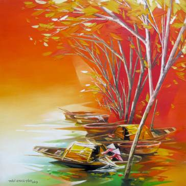 Resting-boats-02-Original-Asian-Art