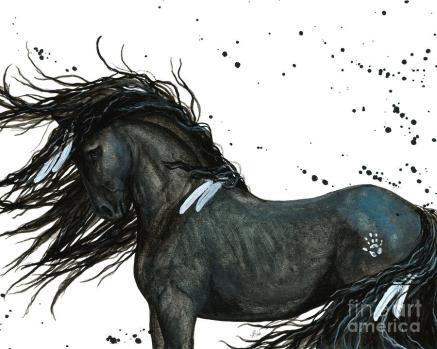 white-feather-horse-amylyn-bihrle