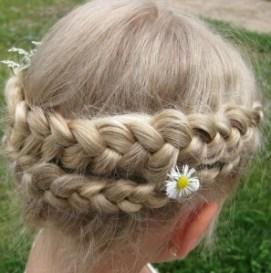 Прически для девочек на длинные волосы13