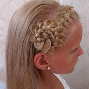 Прически для девочек на длинные волосы14