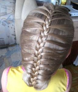 Прически для девочек на длинные волосы8