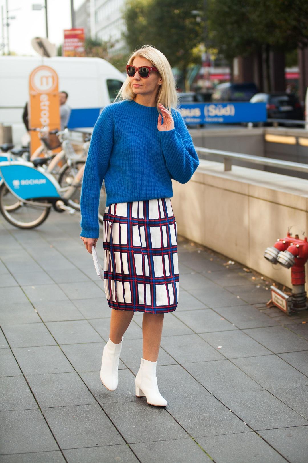 Trend Weiße Stiefel Modetrend