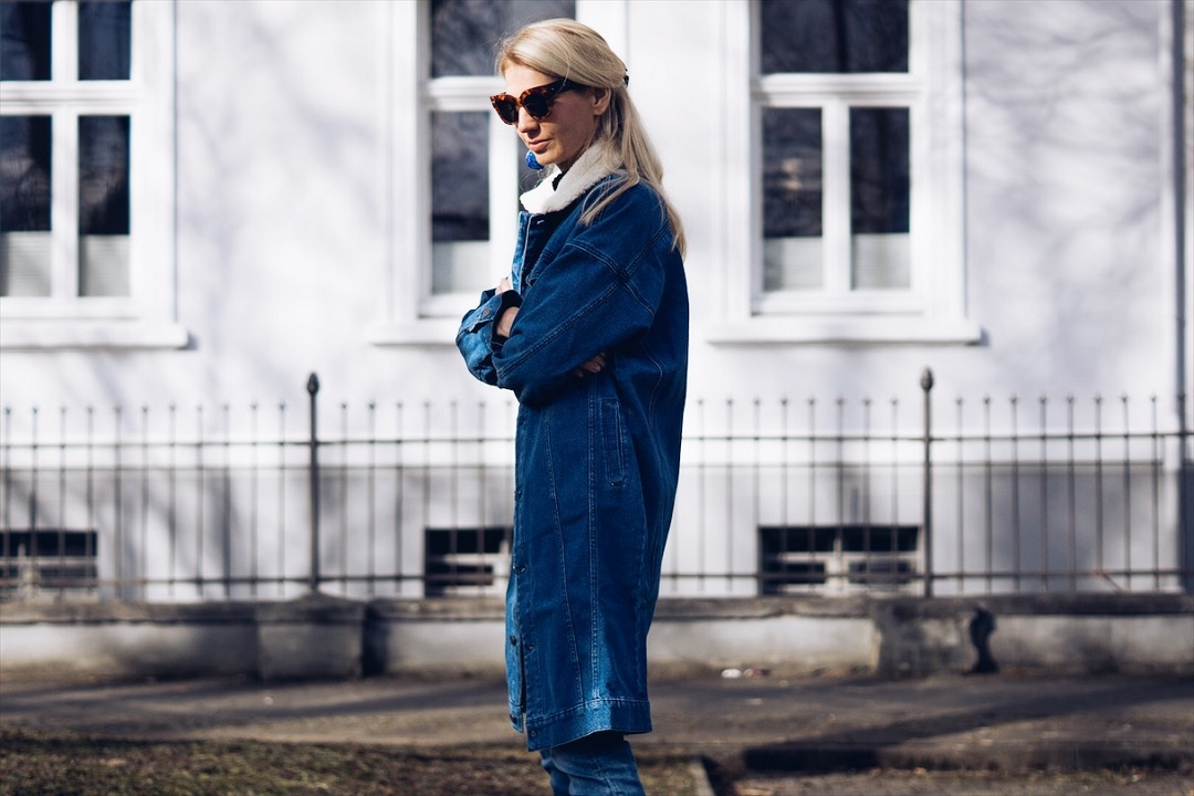Blue for March and what to wear in March now