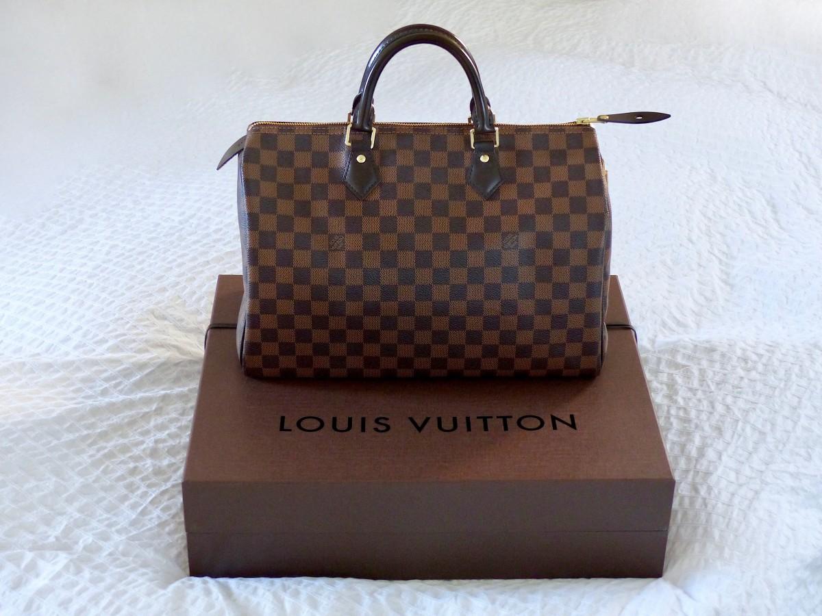 My first designer bag - Louis Vuitton Speedy