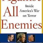 book cover showing W, Cheney, and Rumsfeld