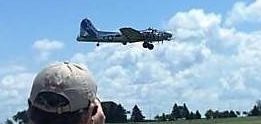 B-17 photos I took from my ride to honor my father