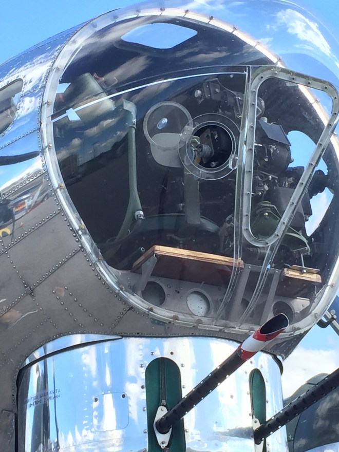 B-17 Flying Fortress nose