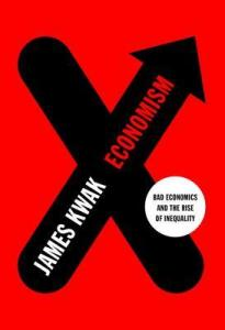 book jacket for Economism red wth black X