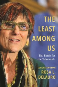 book jacket with photo of author