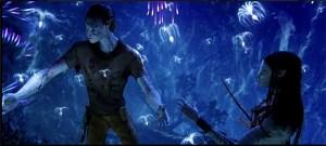 Avatar's Bioluminescent Forest