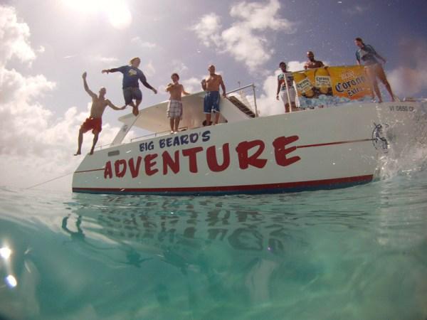 Big Beard Adventure Tours Buck Island MJS Visions