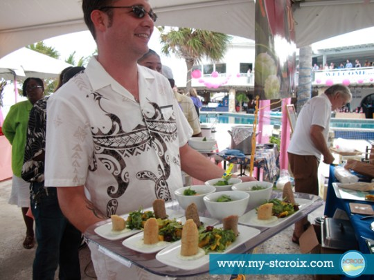 A Taste of St Croix local Schooner Bay Market