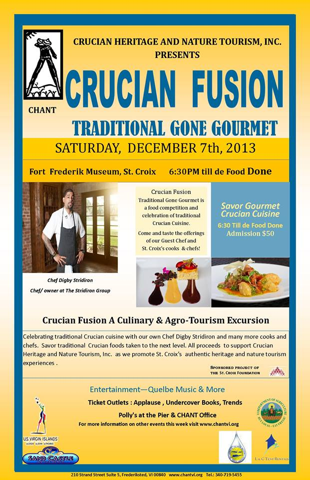 Crucian Fusion Traditional Gone Gourmet