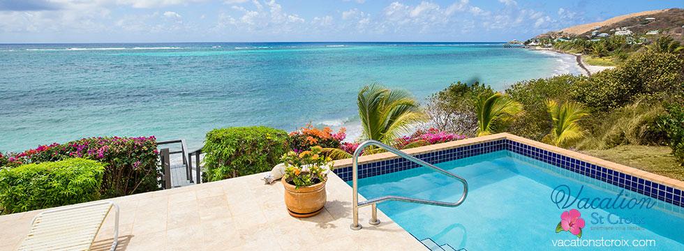 Vacation St Croix Lymin Beach House