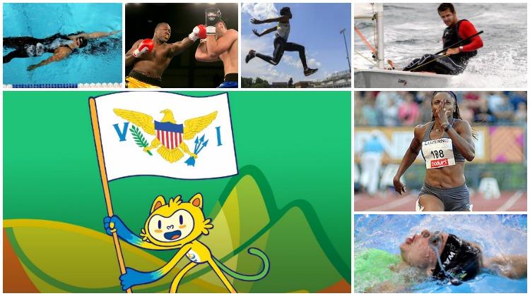 Virgin Islands 2016 Summer Olympics Schedule