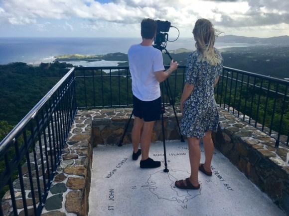 filming over salt river st croix