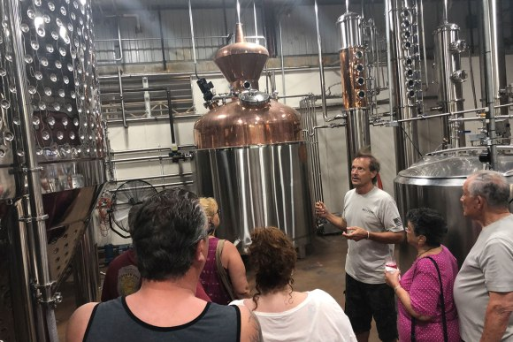 Sion Farm Distillery tour on St Croix