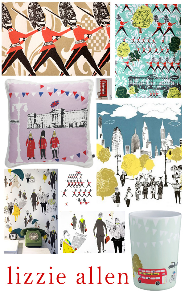 Lizzie Allen Wallpaper Prints