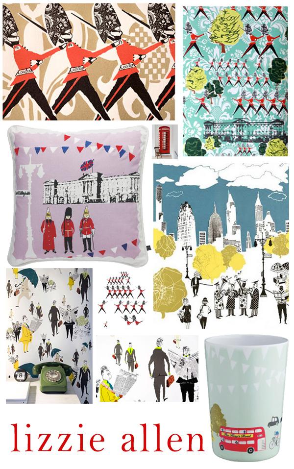 Lizzie Allen Wallpaper Prints