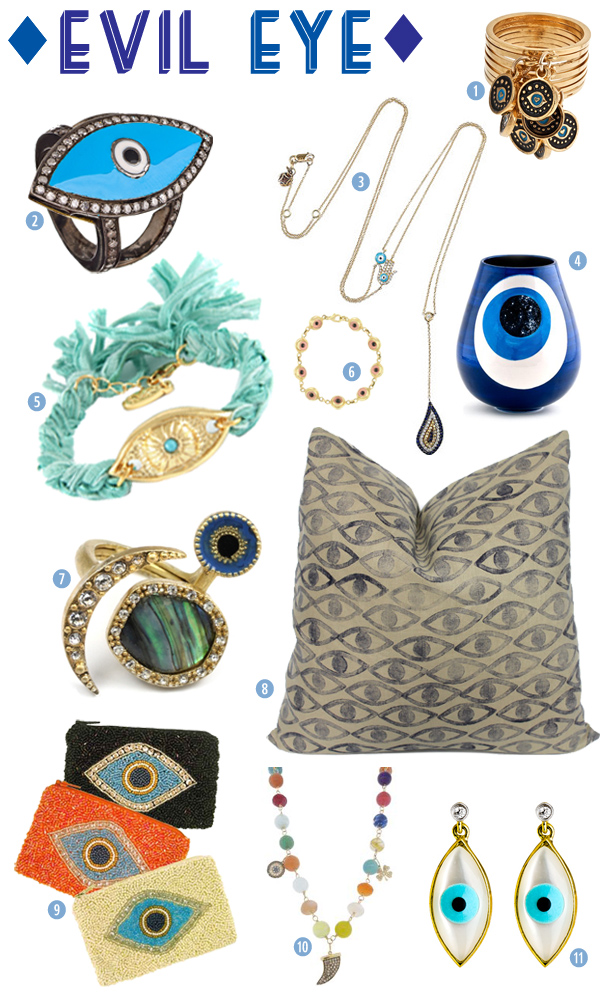Style Therapy Picks for Evil Eye Accessories