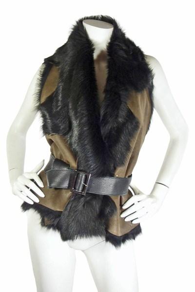 10-02 Karl Donoghue Fur Vest (2)