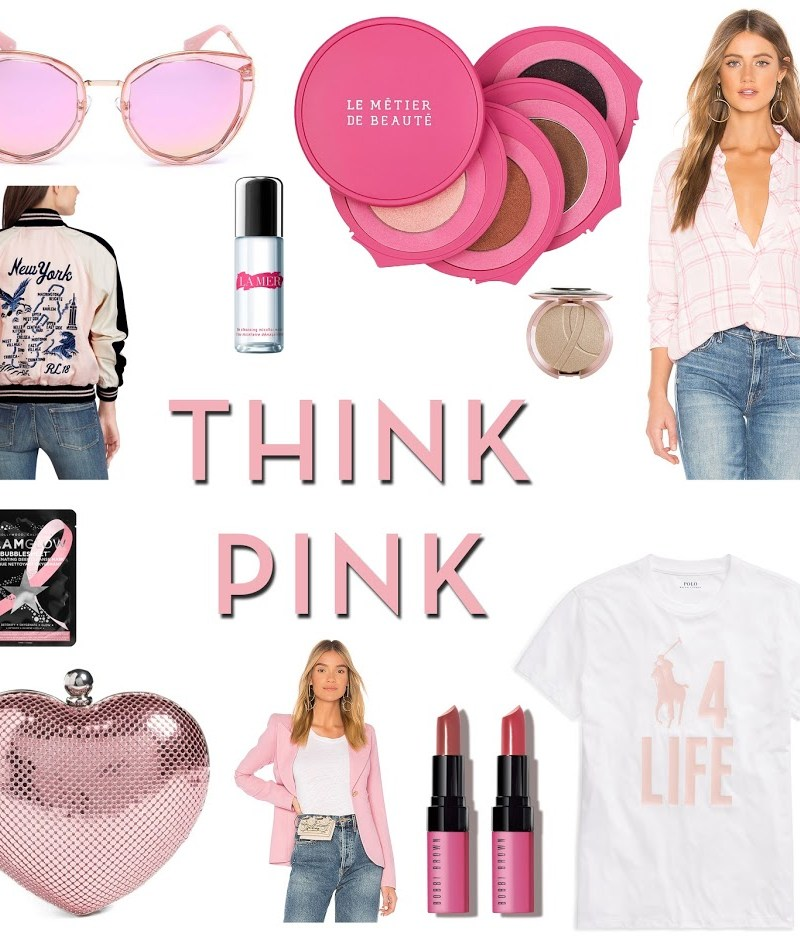 Think Pink: Shop For A Cause