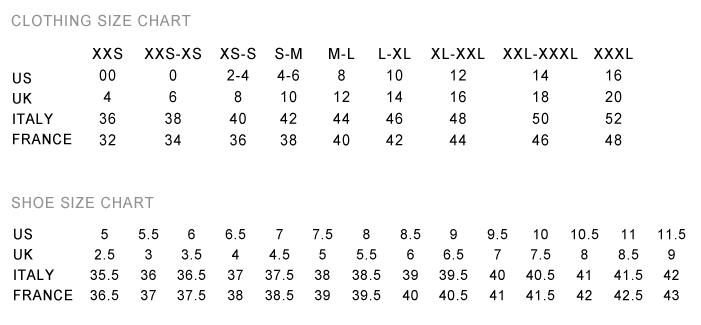 Sizing-Charts